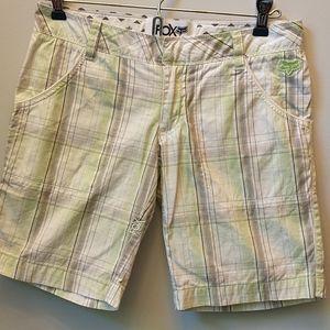 Fox Plaid Shorts - Size 0